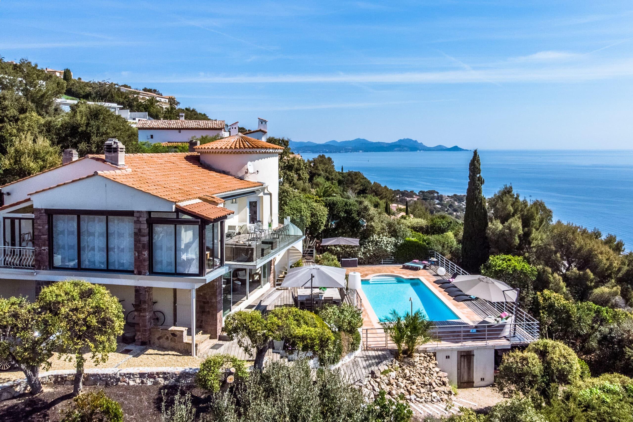 espritdusud - villa met zwembad en zeezicht - Les Issambres