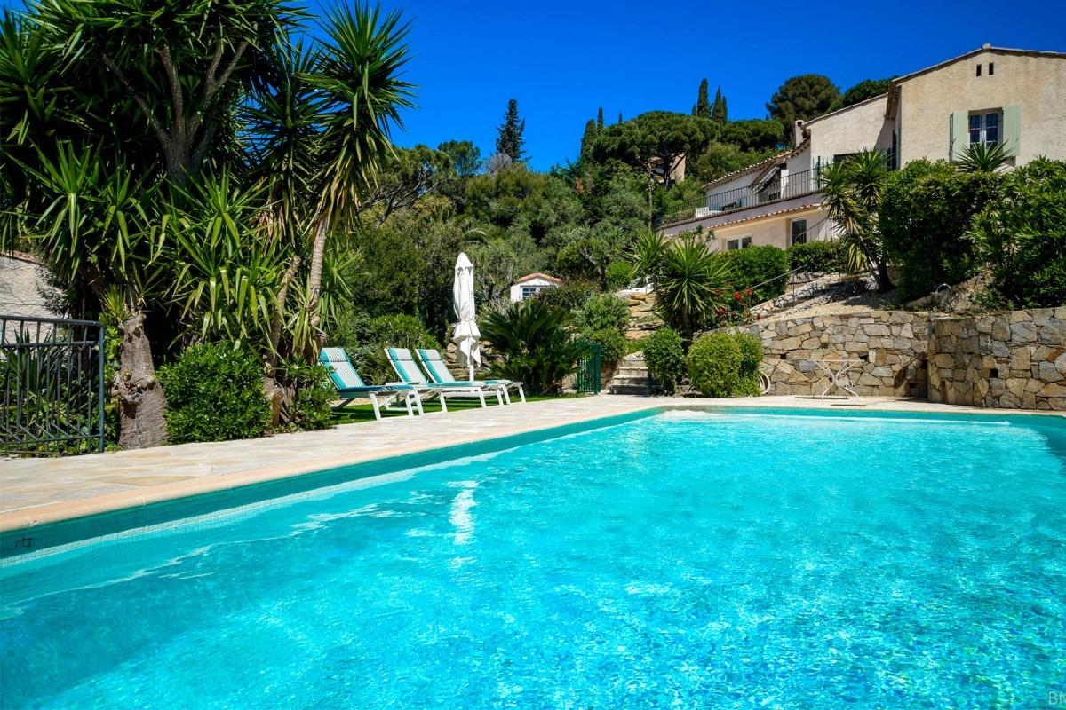 villa met zwembad aan de coted'azur huren - espritdusud