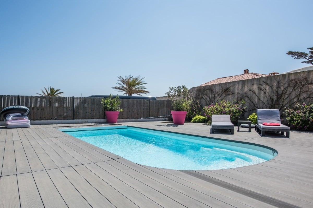 villa te huur met zwembad in Sainte-Maxime