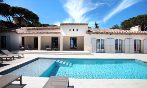 villa met zwembad in Sainte-Maxime
