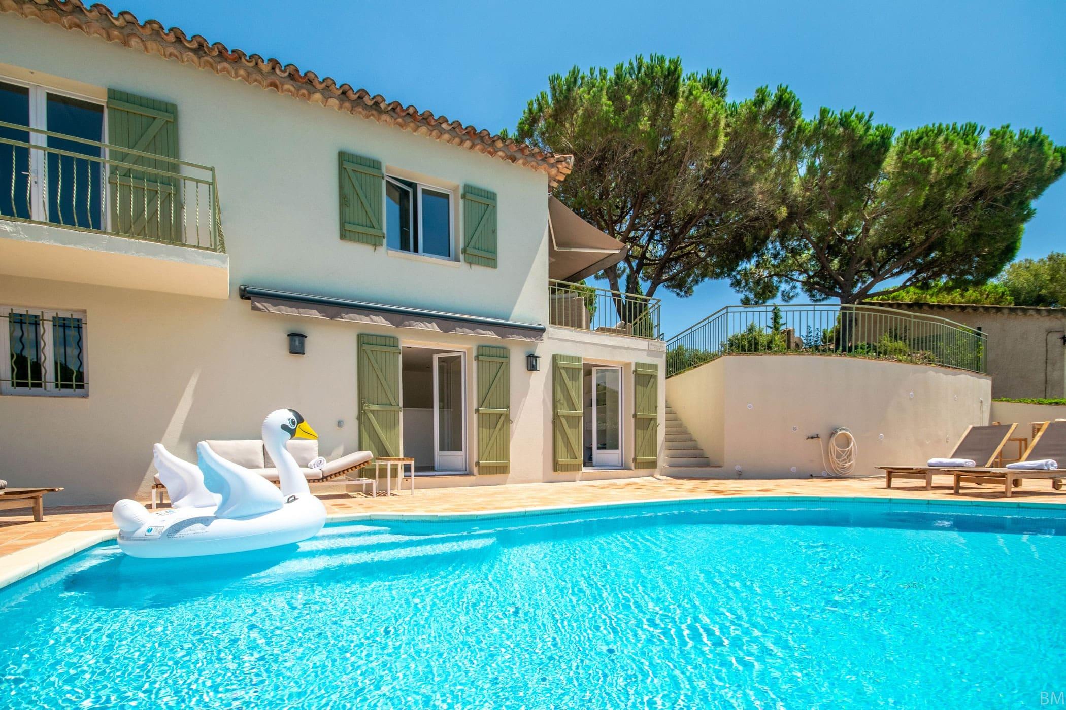 Villa te huur - Sainte-Maxime - espritdusud